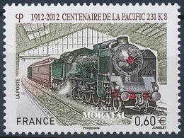 2012 France  Sc# 4218  ** MNH Very Nice. Train (Scott)  Fauna - France