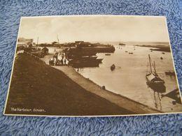 C.P.A.- Royaume Uni - Ecosse - Girvan - The Harbour - 1920 - SUP - (DE 76) - Ayrshire