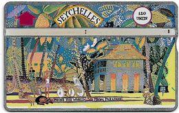 Seychelles - C&W Seytels (L&G) - Madam Rene's House, La Digue - 203C - 120U, 03.1992, 16.000ex, Used - Seychelles