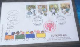 Grande Bretagne 1979 AIE IYC FDC EDINBURGH - Childhood & Youth