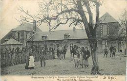 SOMMERY- Restes De L'ancien Château Seigneurial - France