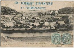 Saint Mhiel Vue General Ouest 154 Eme Regiment D'infanterie 4 Eme Compagnie - Saint Mihiel
