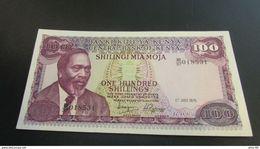 Kenya P.14c 100 Shillings 1976 Xf-au - Kenia