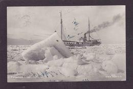 CPA Polaire Polar Pole Expédition Circulé Voir Scan Du Dos Fangstskib I Isen - Events