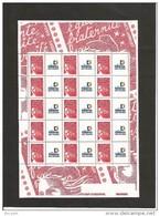 MINIFEUILLE   3417     TIMBRES PERSONNALISES   NEUF XX - Gepersonaliseerde Postzegels