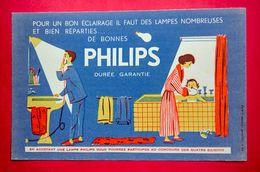 Buvard Lampe PHILIPS - Electricité & Gaz