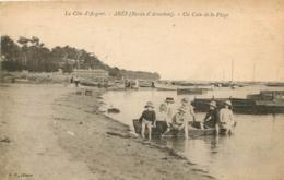 ARES UN COIN DE LA PLAGE  BASSIN D'ARCACHON - Arès