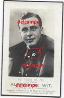OORLOG GUERRE Alfred Dewit Diegem Soldaat Cyclist Gesneuveld Te Oostende 24 Mei 1940 Luchtaanval - Images Religieuses