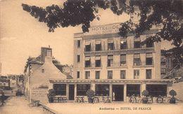 AUDIERNE  - Hotel De France ( Pub Au Verso ) - Audierne