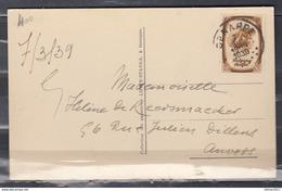 Postkaart Van Genappe Naar Anvers - Covers & Documents
