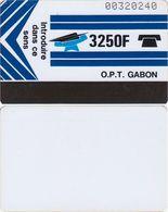 82/ Gabon; Autelca, P8. Logo - Blue / White, Without Line At Bottom - Gabun