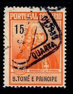 ! ! St. Thomas - 1925 Postal Tax Due - Af. IP 01 - Used - St. Thomas & Prince