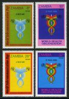 Zambia, 1981, World Telecommunication Day, ITU, United Nations, MNH, Michel 245-248 - Zambia (1965-...)