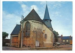 BUSSIERE - DUNOISE - Devant L'abside De L'église - Théojac éditeur 1980 - VENTE DIRECTE X - Altri Comuni