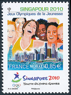 2010 Frankreich Mi# 4945  ** Perfekter Zustand. O.S. Singapur 2010 (Michel)  Art - Neufs