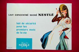 Buvard NESTLÉ, Lait Concentré Pour Bébé - Produits Laitiers