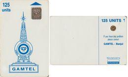 91/ Gambia; P3. Blue Logo, SC4, CN 45315 - Gambia