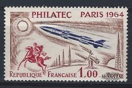 1964 Frankreich Mi# 1480  ** Perfekter Zustand. PHILATEC 1964 (Michel)  Persönlichkeiten - France
