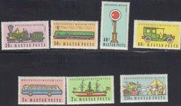 Hongrie 1959 Yvert 1278 / 1284 ** Neufs Sans Charniere. Musee Des Communications. - Ungarn