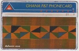 102/ Ghana; Landis,  P5. Adven Asa, CP 210A - Ghana