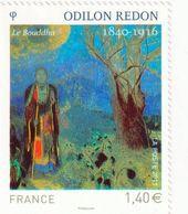"""TIMBRE -  2011  -  N°  4542 -   Série Artistique , Odilon Redon  - """"le Boudha """"  -   Neuf Sans Charnière - Frankreich"""