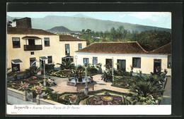 Postal Puerto Cruz / Tenerife, Plaza De Dr. Perez - Tenerife