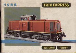 Catalogue TRIX EXPRESS 1964 Minitrix Tram Rivarossi Metallbaukasten - Livres Et Magazines