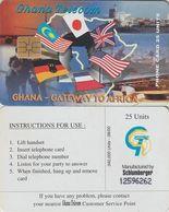 106/ Ghana; P52. Gateway To Africa, 06/00 - Ghana