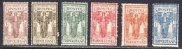 Tripolitania 1926 Mint No Hinge, Sc# ,SG ,Yt 31-36 - Tripolitaine
