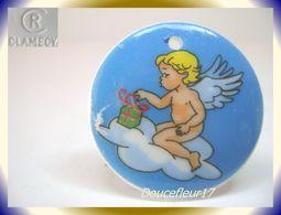 Clamecy .. Angelot Médaillon .. N°5 Bleu.. Ref AFF : 44-2004.. (Tiroir 2004) - Oude