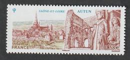 """TIMBRE -  2011  -  N°  4552  - Série Touristique , Autin - """" Remparts Et Cathédrale"""" -   Neuf Sans Charnière - Nuovi"""
