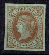 Espagne YT N° 63 Neuf *. Belle Gomme D'origine. Premier Choix. A Saisir! - 1850-68 Royaume: Isabelle II