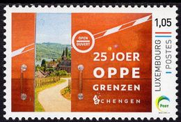 Luxembourg - 2020 - 25 Years Of Schengen Treaty - Mint Personalized Stamp - Luxembourg