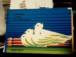 RADIO  SOFIA  DISTENSIONE PR LA PACE COLOMBA APPELLO DI STOCCOLMA REDAZIONE ITALIANA  1980 HQ9487 - Radio