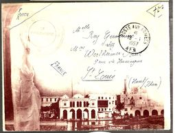 33250 - Enveloppe Avec  Illustration - Marcophilie (Lettres)