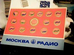RUSSIA RADIO MOSCA MOSCOW 'S Urss,russie  SOVIET REPUBLIC   V1976 HQ9490 - Radio
