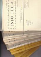 PERIODIQUES INFO PHILA Par  DENEUMOSTIER Marcel  Du N° 68 Au N°  84   ( 17 Périodiques ) - Filatelia E Storia Postale