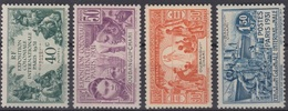 OUBANGUI CHARI : SERIE EXPOSITION 1931 N° 84/87 NEUVE * GOMME AVEC CHARNIERE - Oubangui (1915-1936)