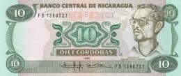 NICARAGUA 10 CORDOBAS (2) -UNC - Nicaragua