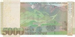 ARMENIA P. 56 5000 D 2012 UNC - Arménie