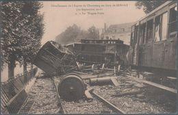 Déraillement De L'express De Cherbourg En Gare De Bernay , Le Wagon Poste , Animée - Bernay