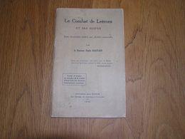 LES COMBATS DE LEERNES Et Ses Suites Guerre 14 18 Armée Française Ambulance Fontaine L'Evêque Dragons Combat Bataille - Guerre 1914-18