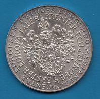EUROPA 1er Ecu Erster Taler 1971  Argent Silver 900%  Robert Schuman - Allemagne