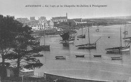 AUDIERNE  - Le Port Et La Chapelle St Julien à POULGOAZEC - Audierne