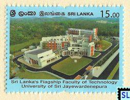 Sri Lanka Stamps 2020, Sri Lanka's Flagship Faculty Of Technology, University Of Sri Jayewardenepura, MNH - Sri Lanka (Ceylon) (1948-...)