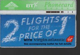 ROYAUME UNI -Télécarte BT Phonecard - 2 FLIGHTS FOR THE PRICE OF 1 - Ver. Königreich