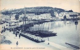 AUDIERNE  - Le Fond Du Port Et La Montagne - Audierne