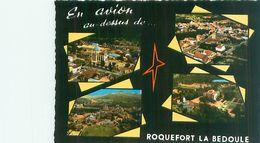 Cpsm - Roquefort La Bedoule - Divers Vues     V23 - Otros Municipios