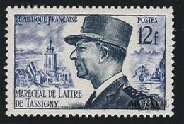 1954 Francia Yv# 982  *MH  Buen Estado. Lattre De Tassigny (Yvert&Tellier) - Francia