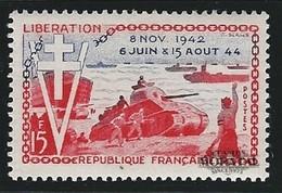 1954 Francia Yv# 983  *MH  Buen Estado. Aniv. Liberación (Yvert&Tellier)  Guerra - Francia